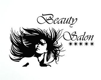 Salon tools shop saln. Beauty clipart hair design