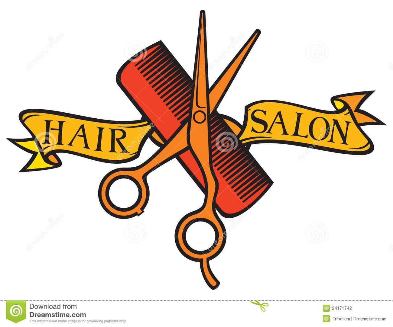 Beauty clipart hair stylist. Salon free clip art