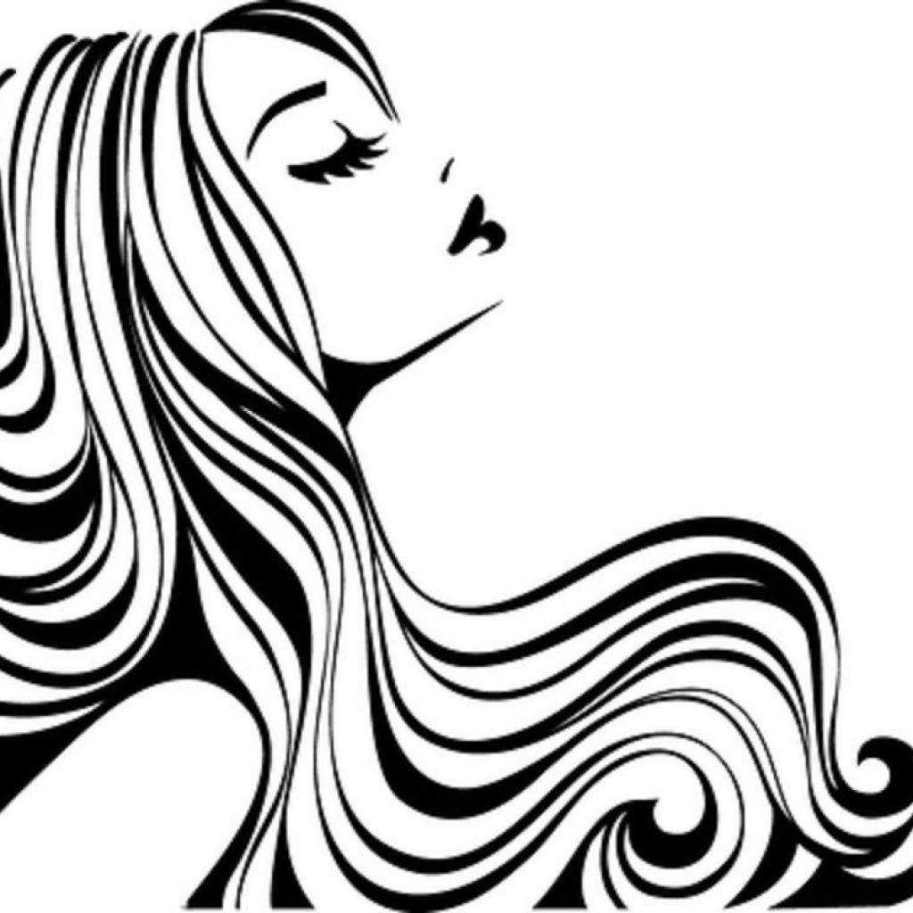 Beauty clipart hair stylist. Salon topplabs org christmas