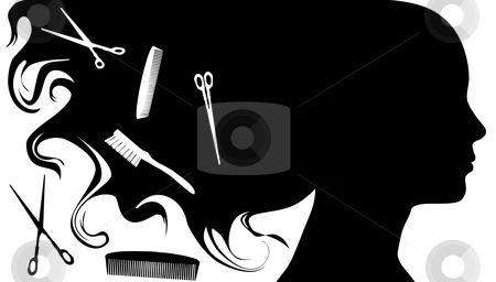 Salon pictures clip art. Beauty clipart hair stylist