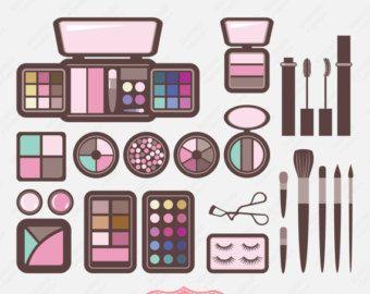 Beauty clipart item. Cosmetic kit clip art
