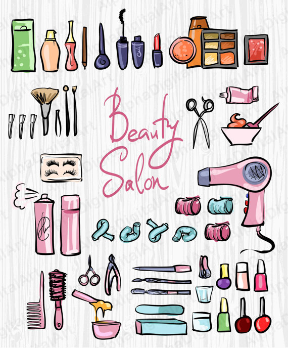 Beauty clipart item.  salon hairstyle spa