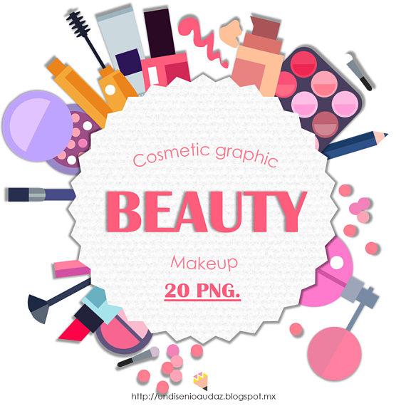 Beauty clipart item. Makeup set de png