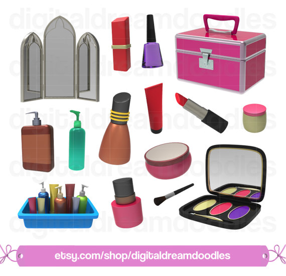 Make up clip art. Makeup clipart