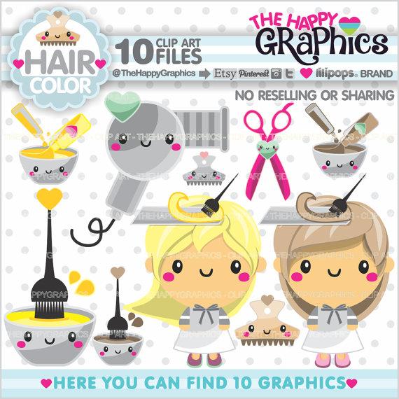 Salon off graphics commercial. Beauty clipart kawaii