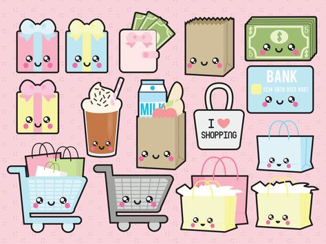 Beauty clipart kawaii. Premium vector clip art