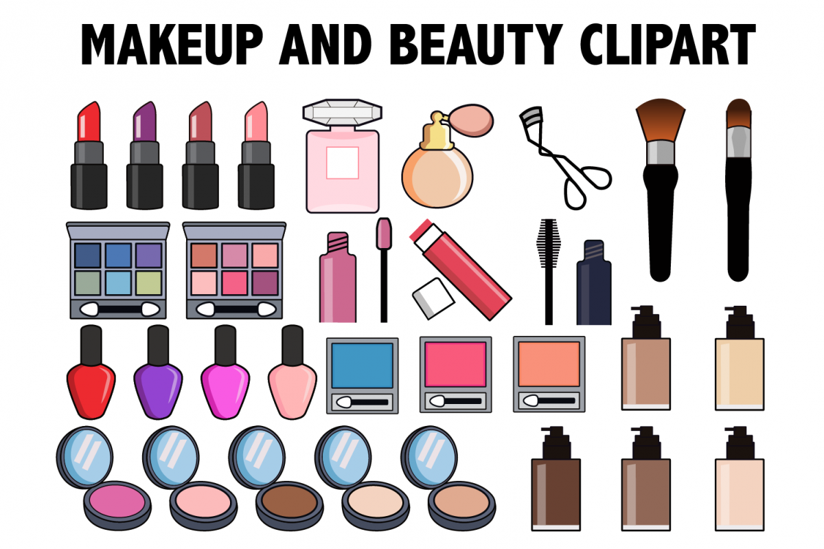 And . Beauty clipart makeup