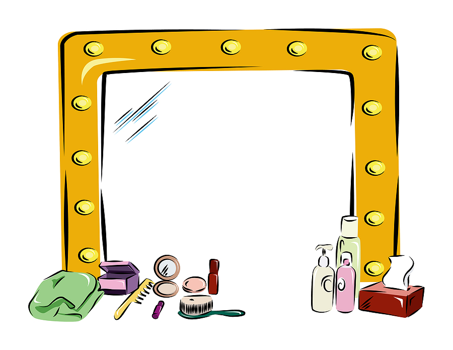 Beauty clipart mirror. New scale developed for