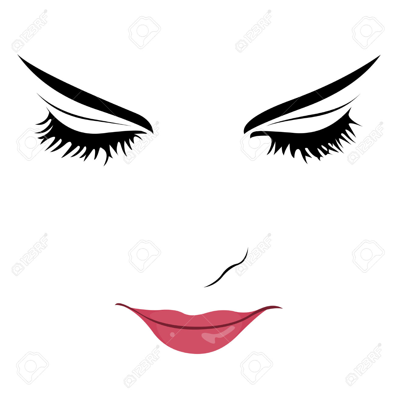 Beauty clipart pretty eye. Best woman eyes free