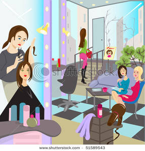 Beauty clipart saloon.  collection of salon