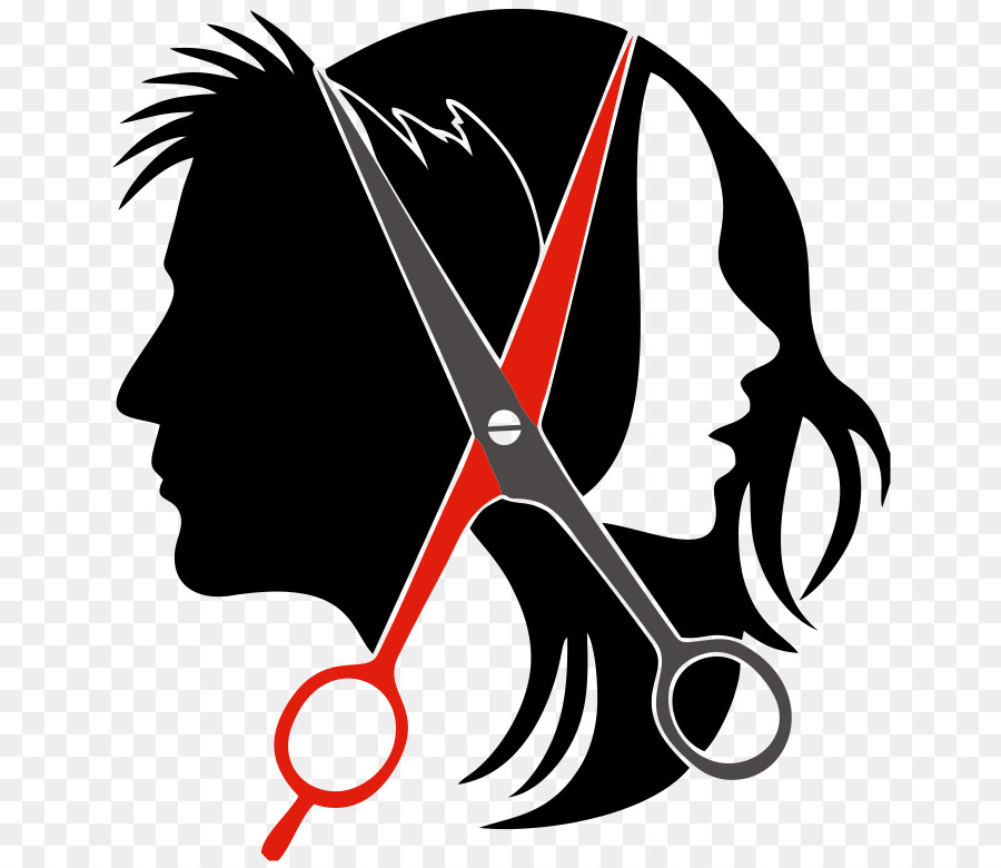 Beauty clipart saloon. Logo hairstyle parlour clip