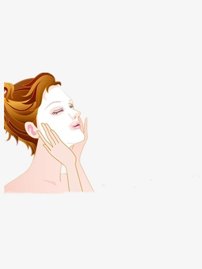 Apply mask care png. Beauty clipart skin