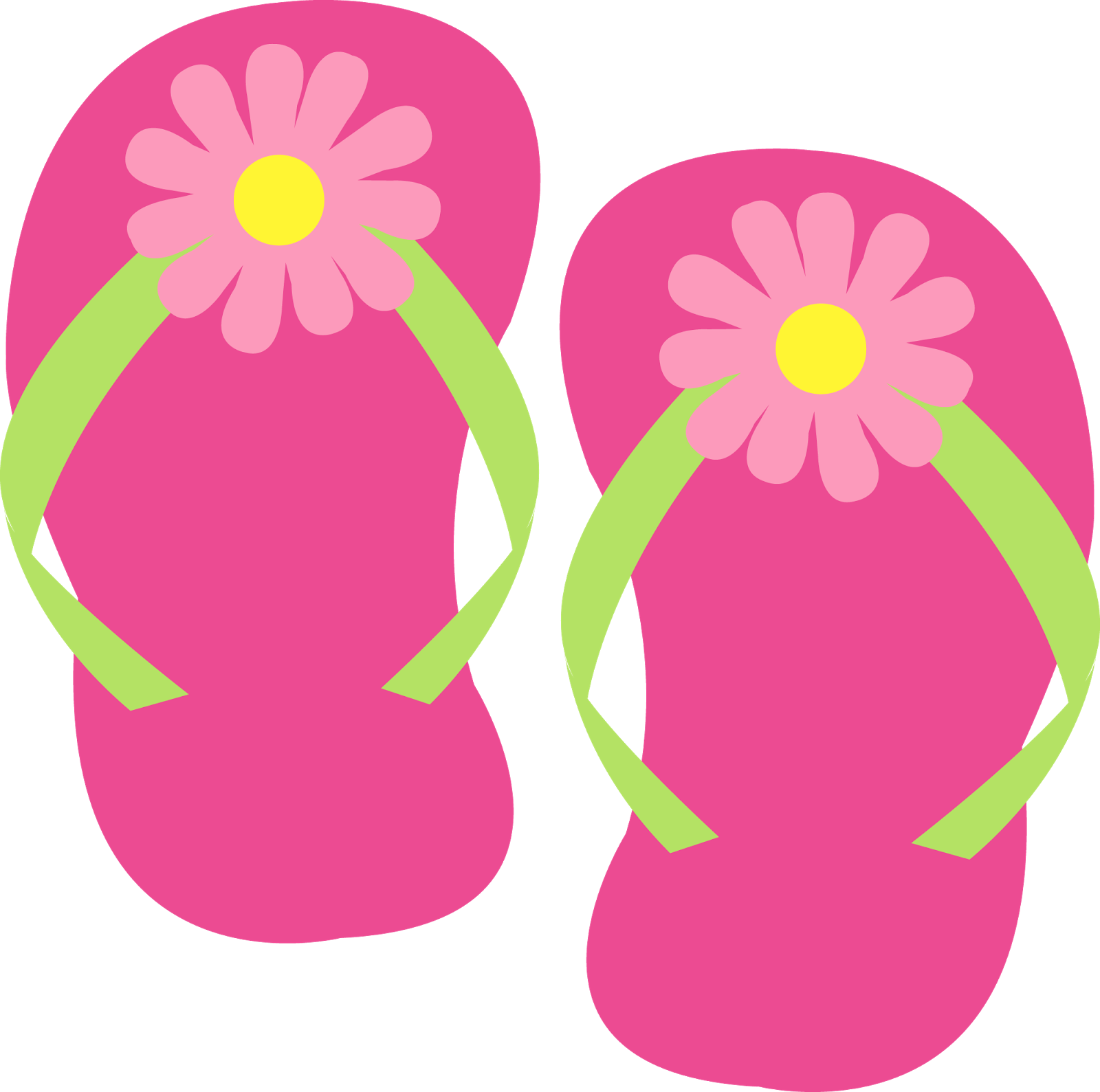 De fiesta spa cumple. Hawaiian clipart flip flop