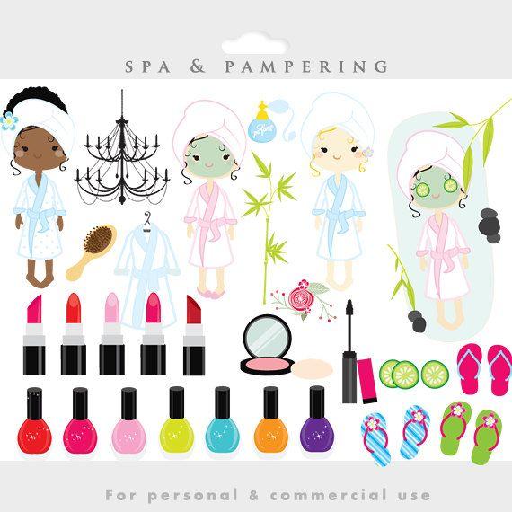 Beauty clipart spa.  best makeup images