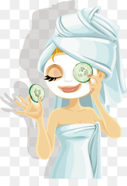 Beauty clipart spa. Free download day facial