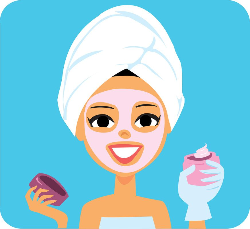 Beauty clipart spa. Parties for girls and