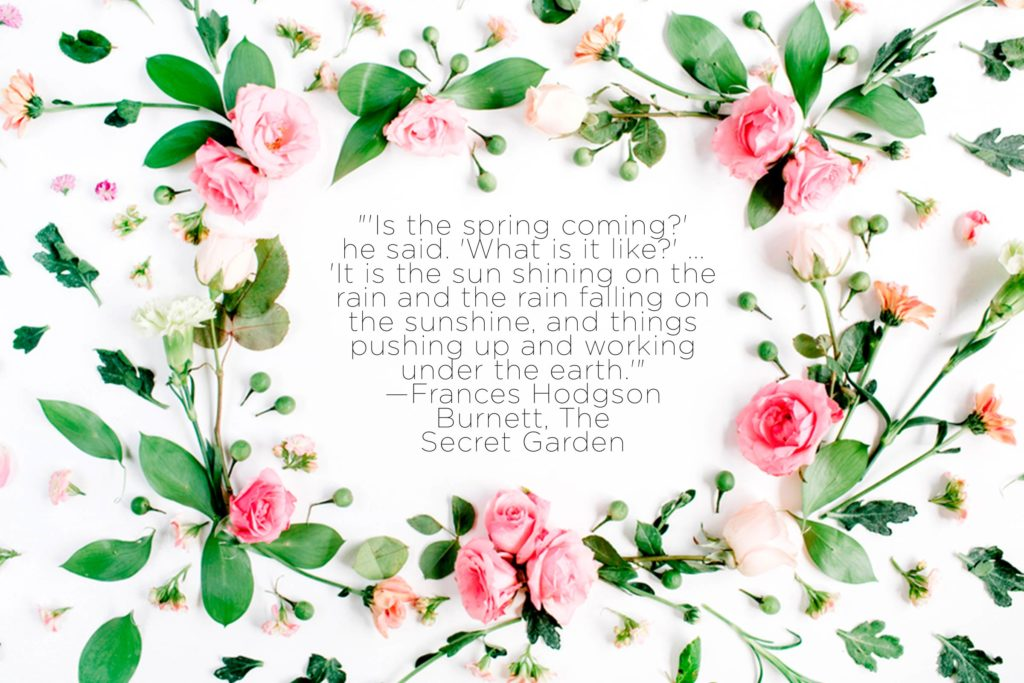 Nature quotes that inspire. Beauty clipart spring
