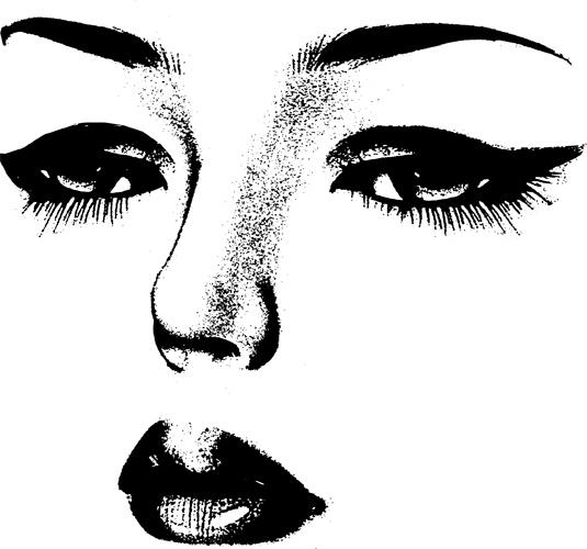 Beauty clipart transparent. Digital download image graphics