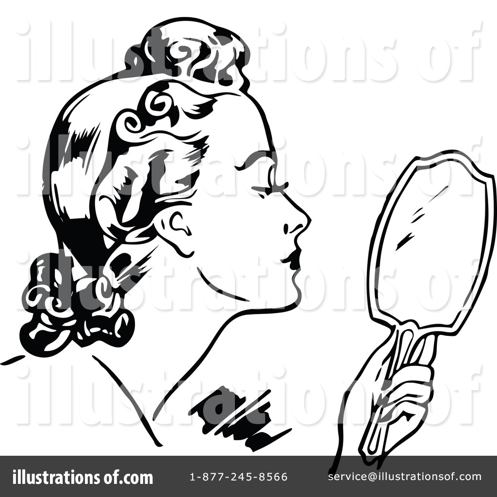 Beauty clipart vintage beauty. Illustration by prawny royaltyfree