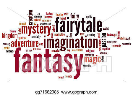 Drawing fantasy cloud gg. Beauty clipart word
