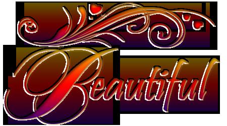Beauty clipart word. Art png on wordsart