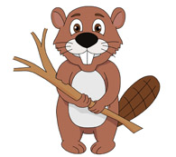 Beaver clipart. Free clip art pictures