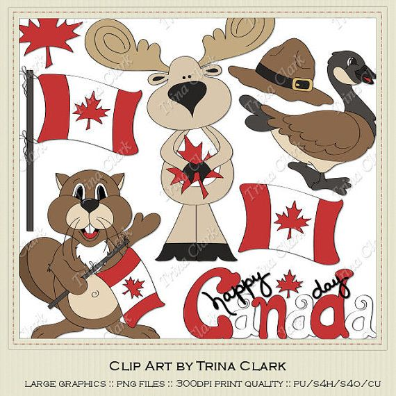 best day clips. Beaver clipart canada july