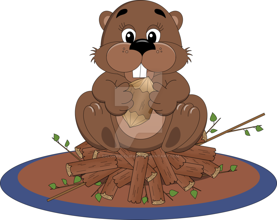 Groundhog clipart groundhog day. Beaver pinart clip art