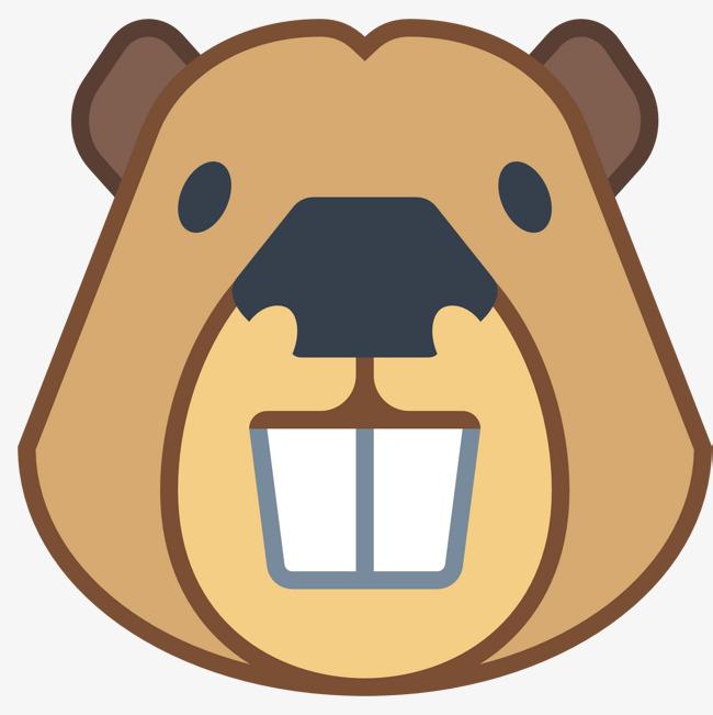 Tusk lovely png image. Beaver clipart head
