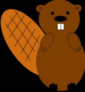 Beaver clipart head. No smile clip art