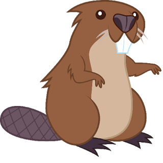 Beaver clipart transparent background. Png image web icons