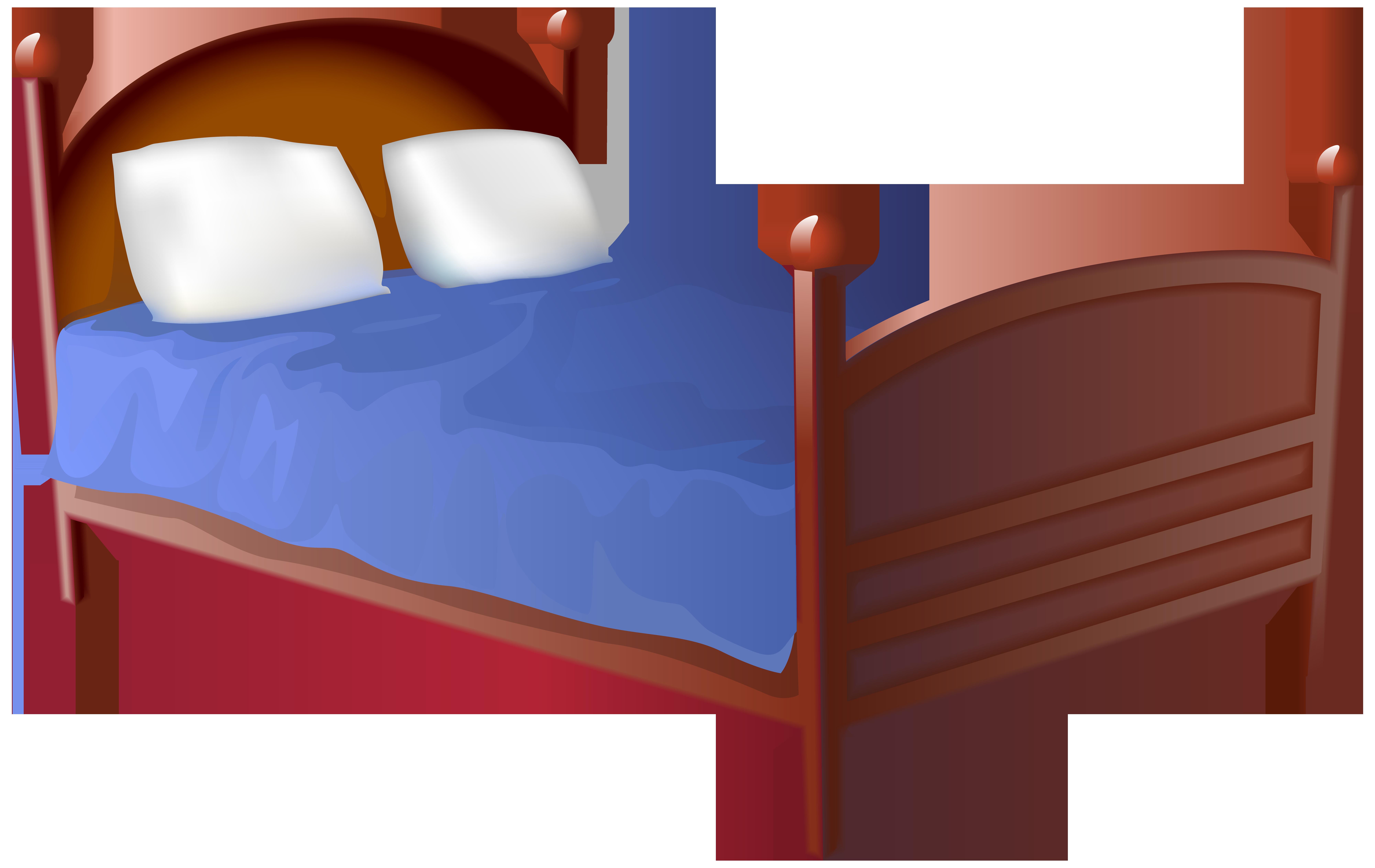 Bed clipart. Transparent png clip art