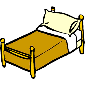 Cliparts of free download. Clipart bed
