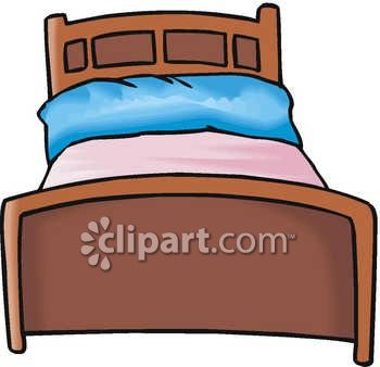Free reading for teachers. Bed clipart animated