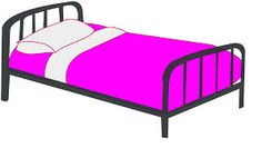 Bed clipart animated. Oven bw template pinterest