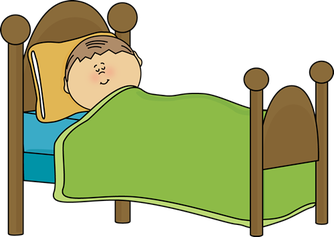 Bed clipart bedtime. Is your child getting