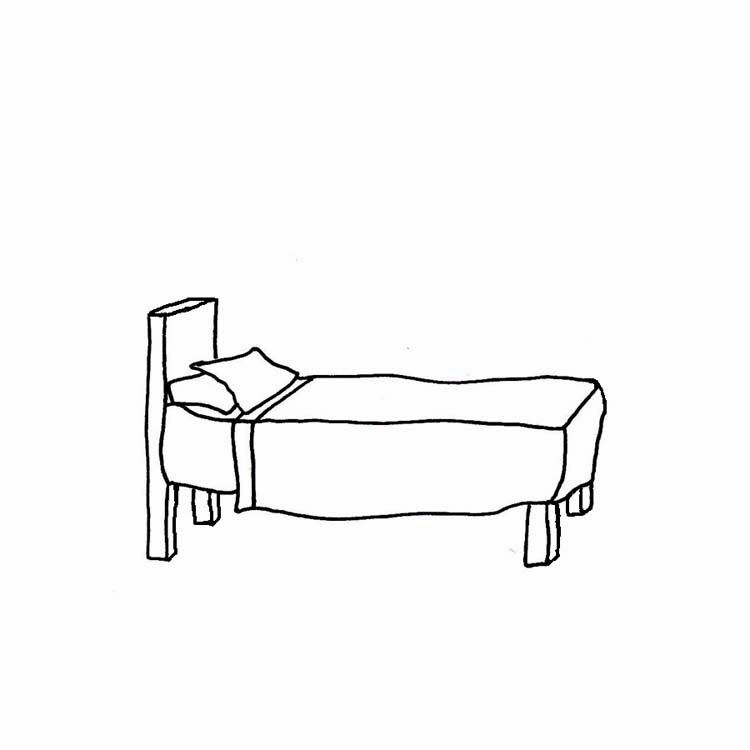 Bed clipart black and white. The top best blogs