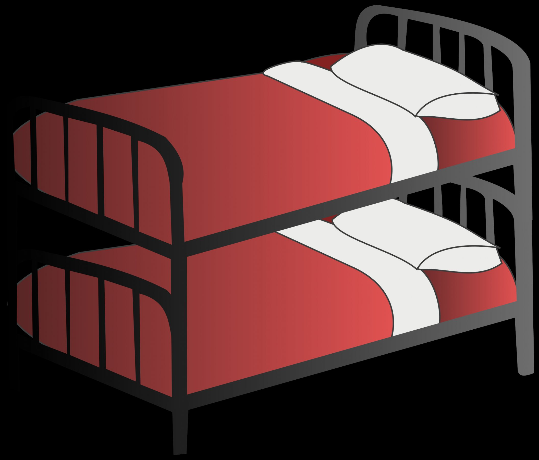 bed clipart bunk bed