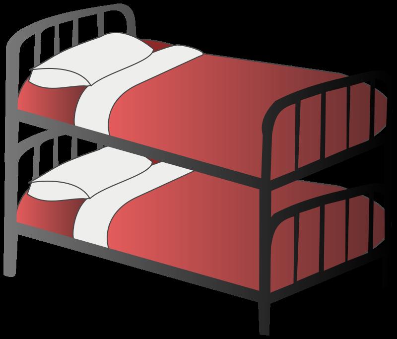 Bunk medium image png. Clipart bed big bed