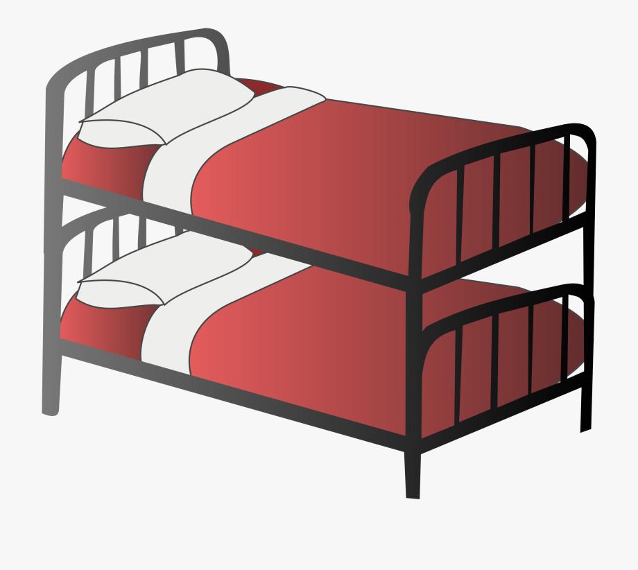 Clip art free images. Bedroom clipart bunk bed