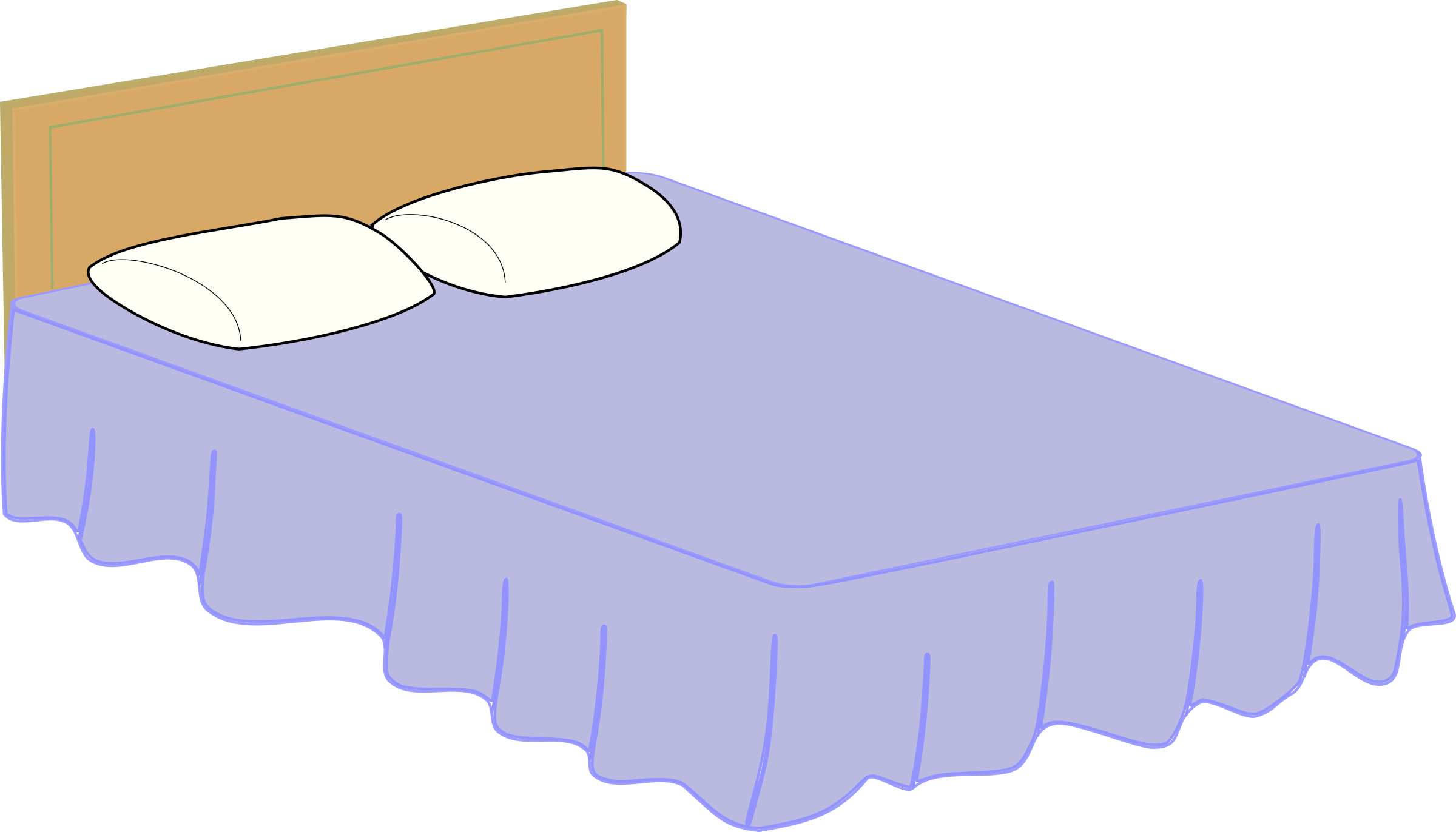 dreams clipart bed pillow