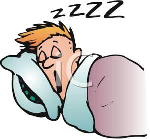 Bed clipart cartoon. Sleeping