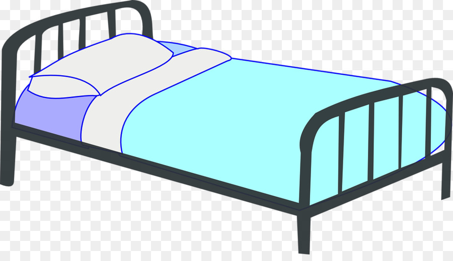 Bed clipart child bed. Outdoor frame furniture transparent