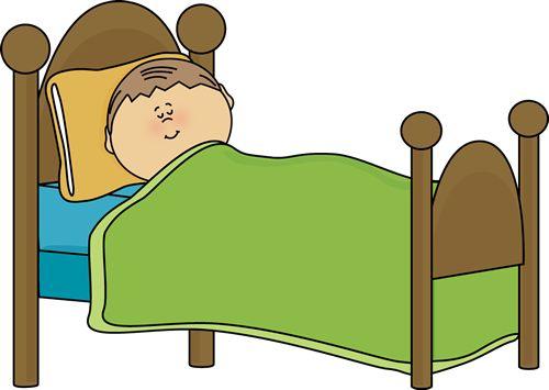 Bed clipart children's. Make free download best