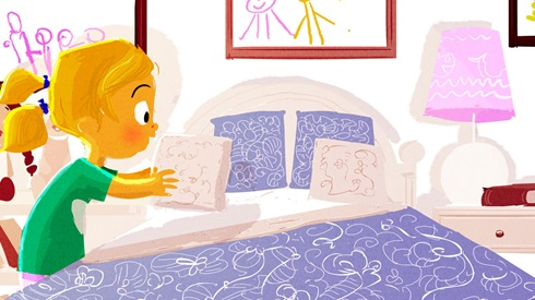 Bed clipart children's. Teaching kids life skills