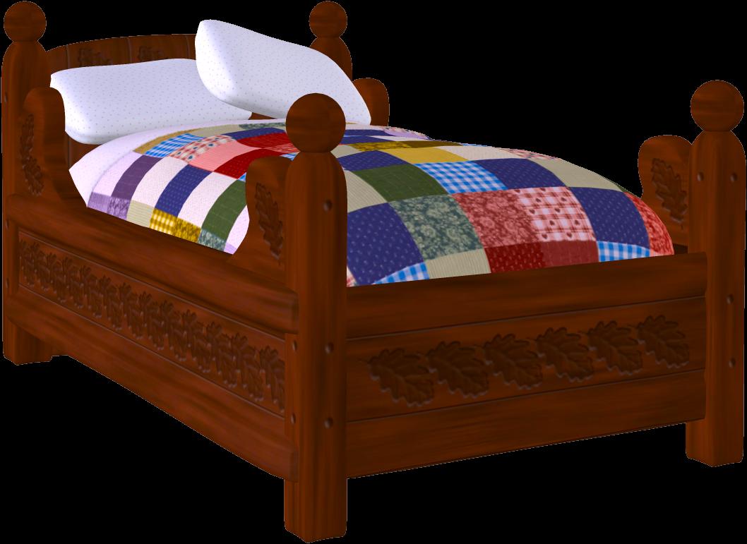 a. Bed clipart cute
