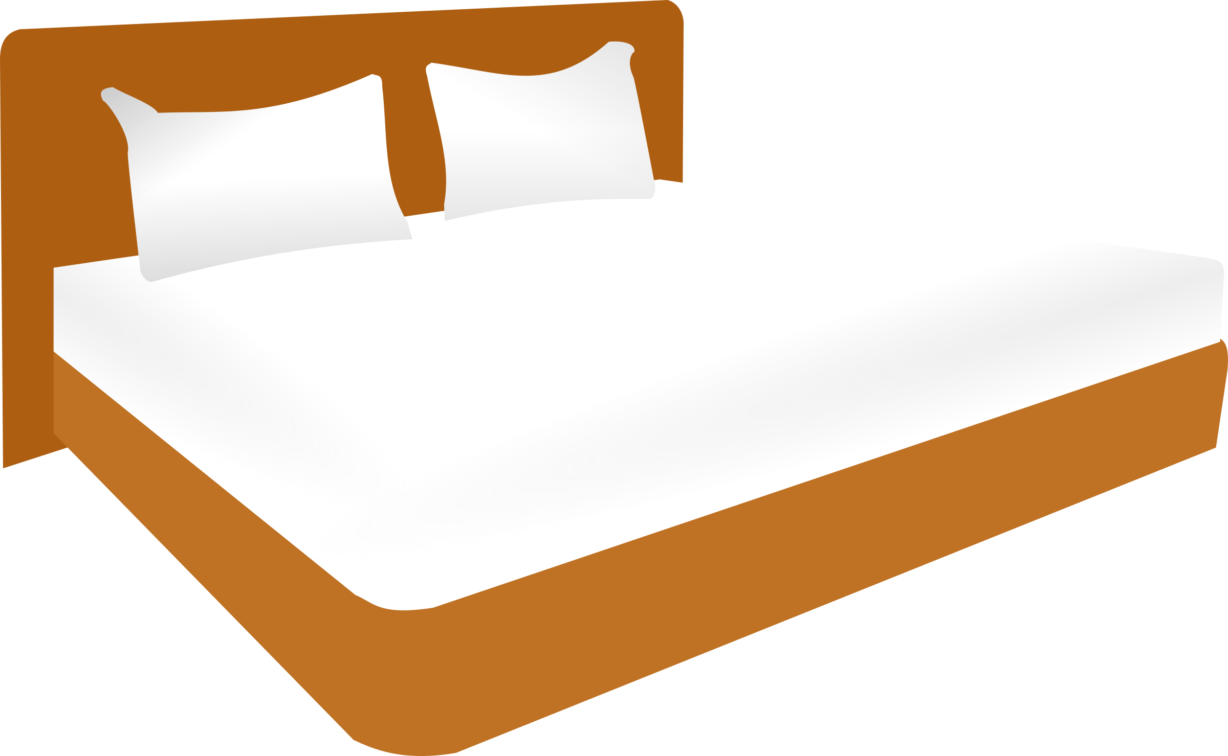 Double image png. Furniture clipart big bed