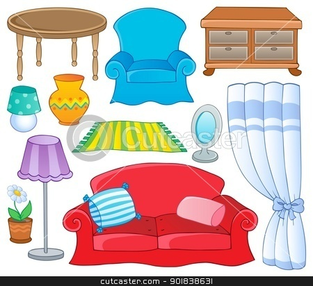 Furniture clipart. Panda free images bedroomclipart