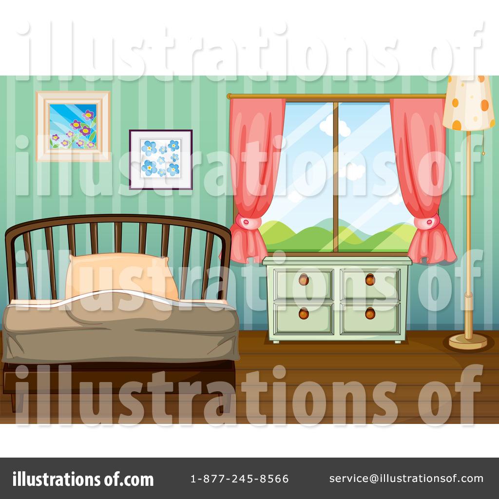Bedroom clipart illustration. Clip art free panda