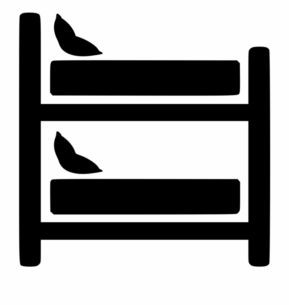 Svg bunk free png. Bed clipart icon